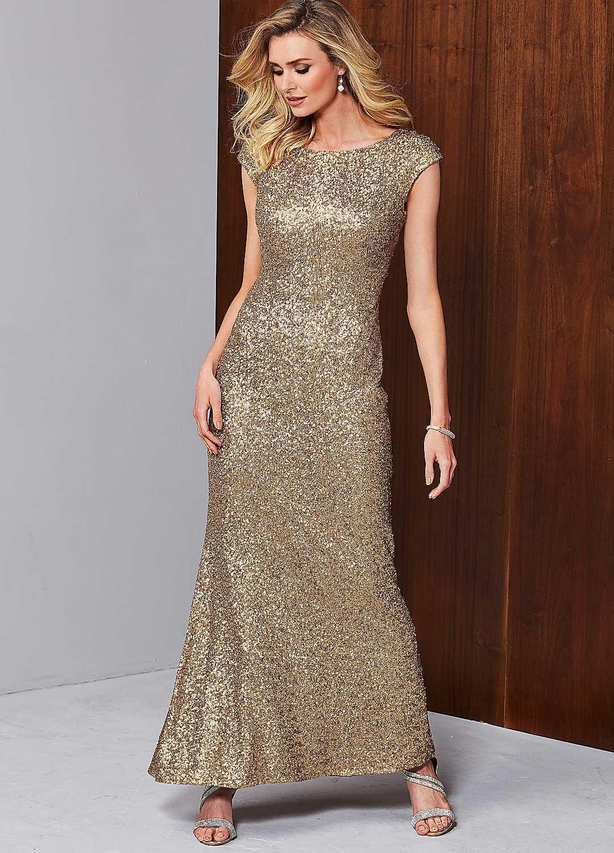 0cddf8d4c0ef Sequin Beaded Long Evening Dress Festival Dress, Red Carpet Looks, Winter  Wardrobe, Cap