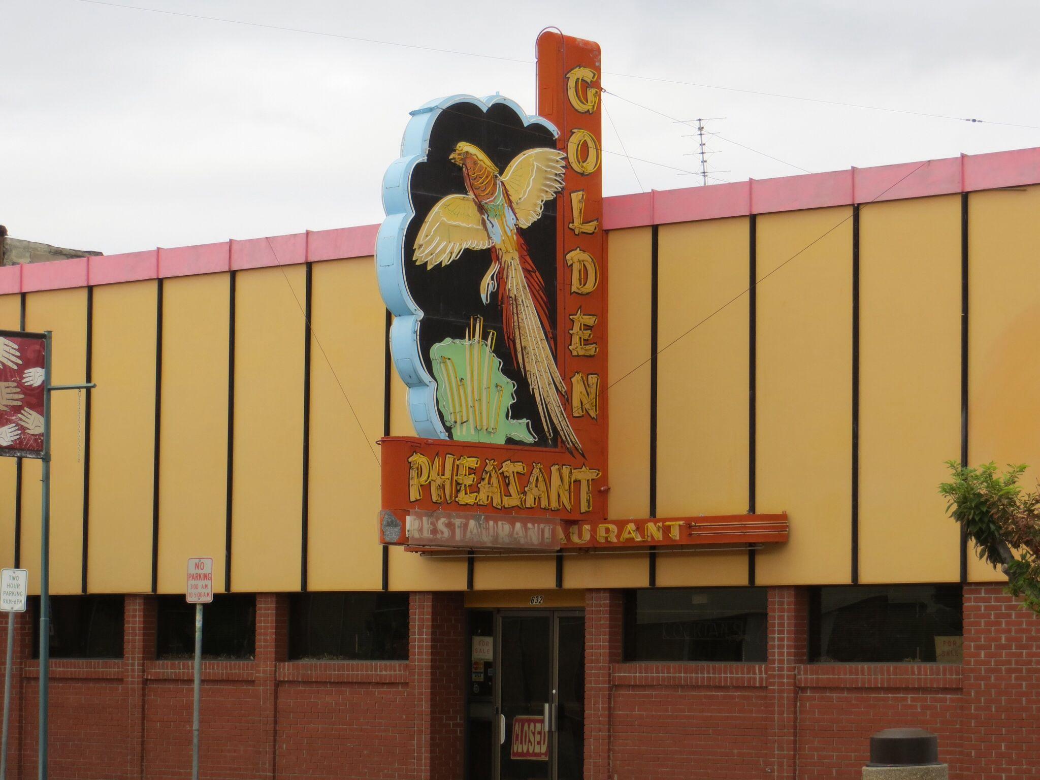 Golden Pheasant Restaurant Sunnyside Wa Neon Signs Golden Pheasant Yakima