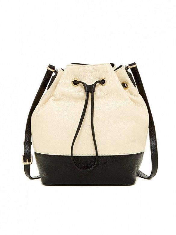 The perfect bag: This Kenneth Cole New York Nevins Street Drawstring Bucket Bag.
