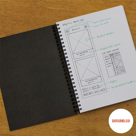 Giveaway: Dot Grid Books for Designers from Dotgrid.co
