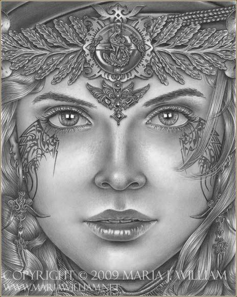 artist Maria J William Just