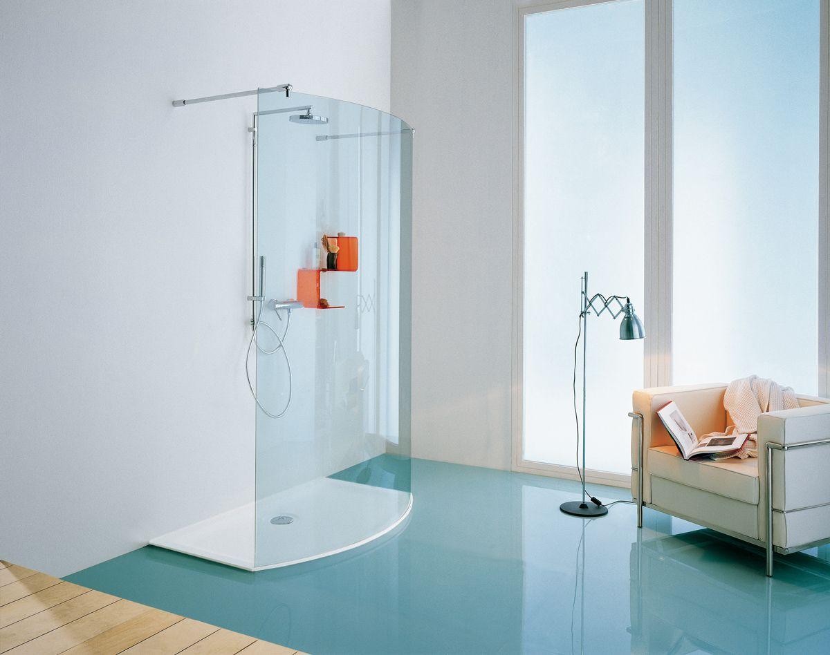 Samo Penisola arrotondata Box doccia, Cabina doccia e
