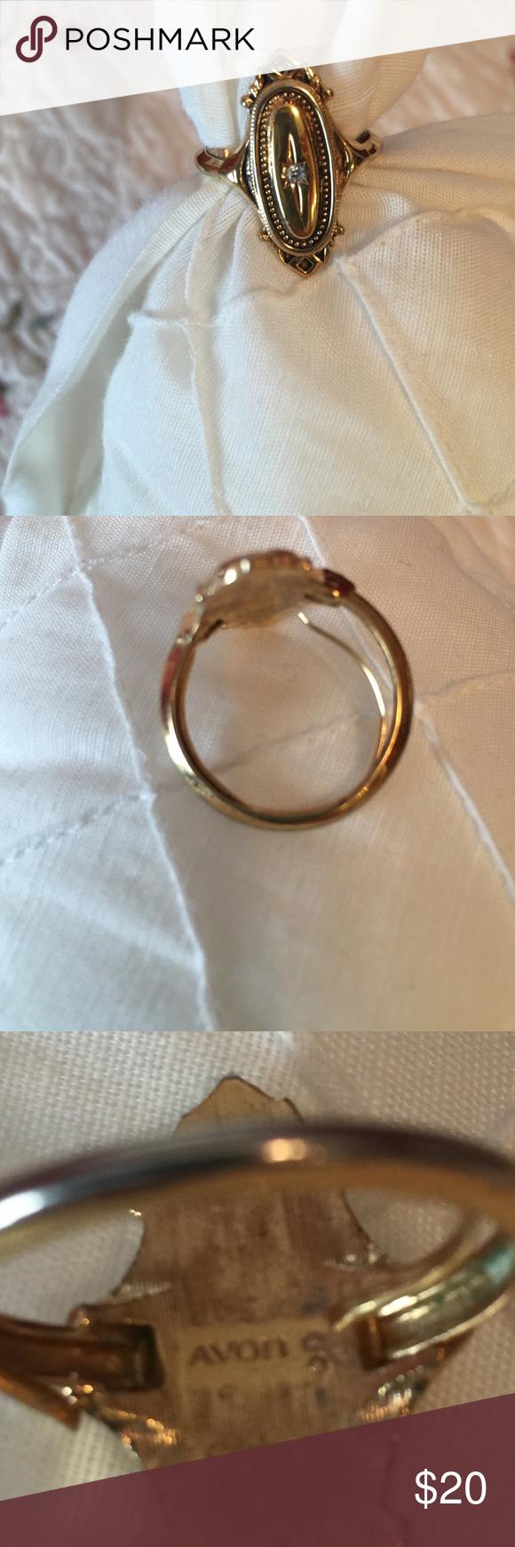 Vintage Avon Ring Avon jewelry rings, Avon rings