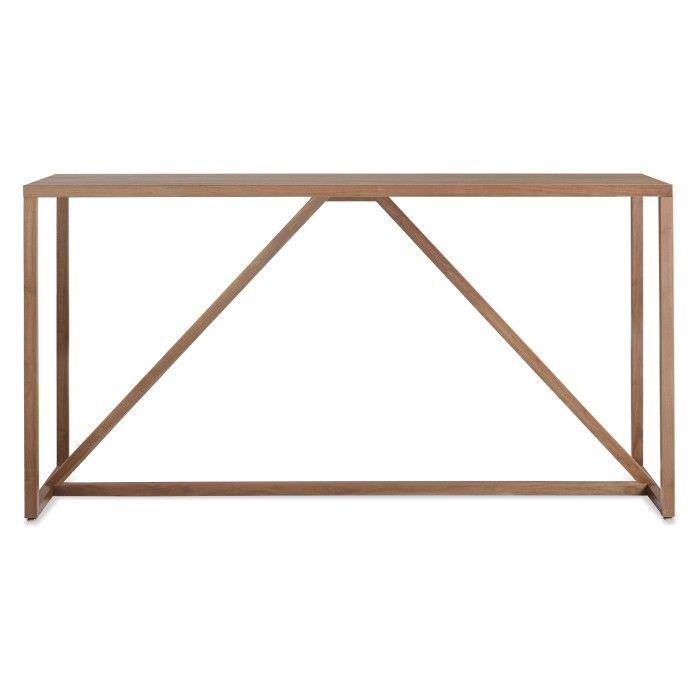 Strut Medium Wood Table - Modern Wood Tables | Blu Dot