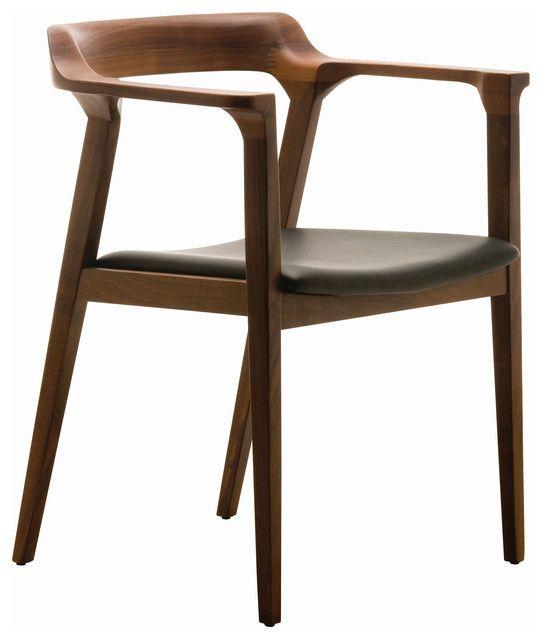Moderne Walnuss Stühlen Holzstühle, Stühle und Rustikale