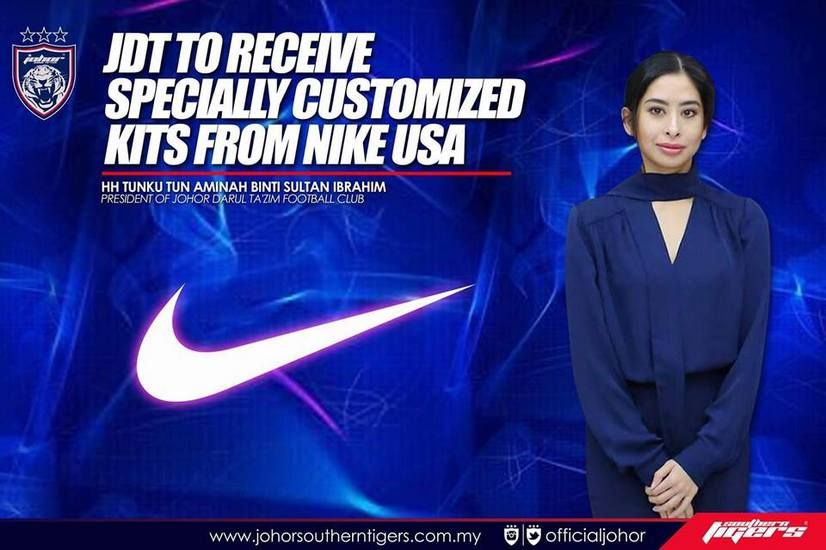 Mulai 2019 JDT bakal terima kit jersi yang direka khas oleh Nike! Kelab  Bola Sepak 52e0ff59e2