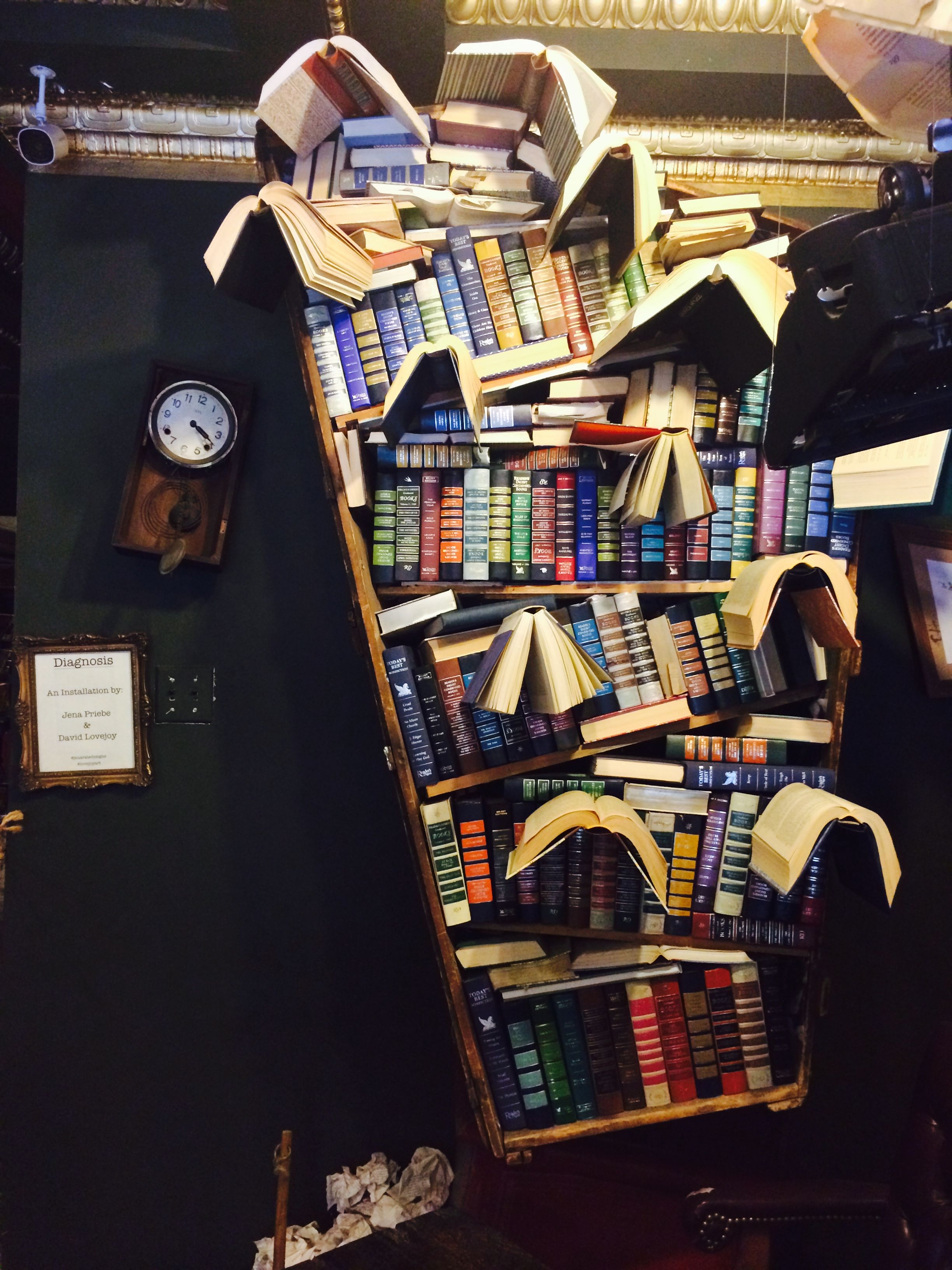 Flying Bookcase The Last Bookstore Downtown Los Angeles