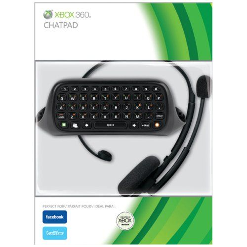 Microsoft Xbox 360 Chatpad - http://www.amazoncraze.com/electronics/microsoft-xbox-360-chatpad/