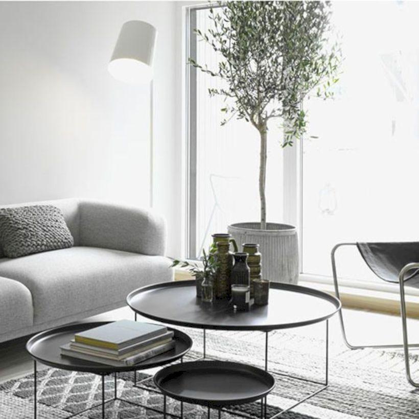 50 Minimalist Monochrome Living Room Decorations