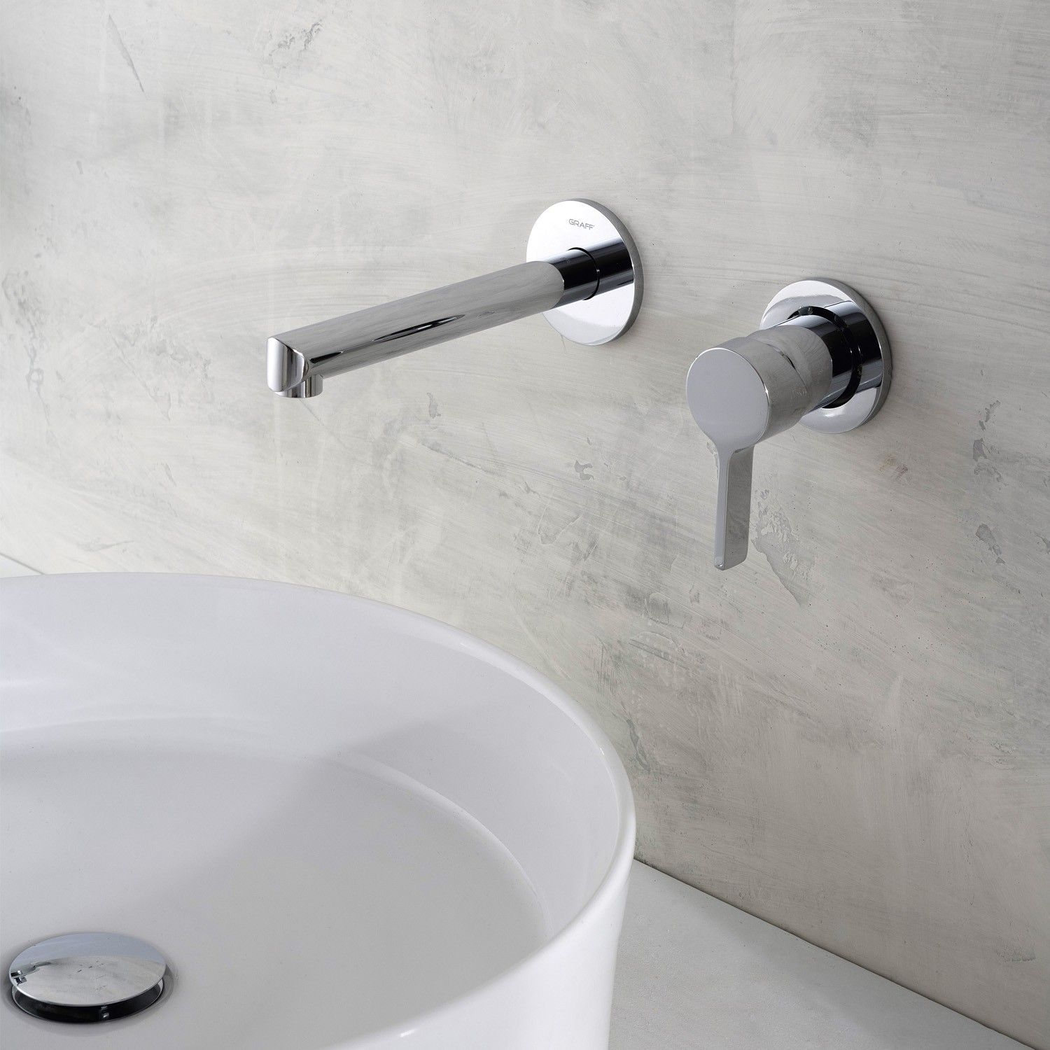 Terra Wall-Mounted Faucet | Wall mount faucet, Faucet and Save water