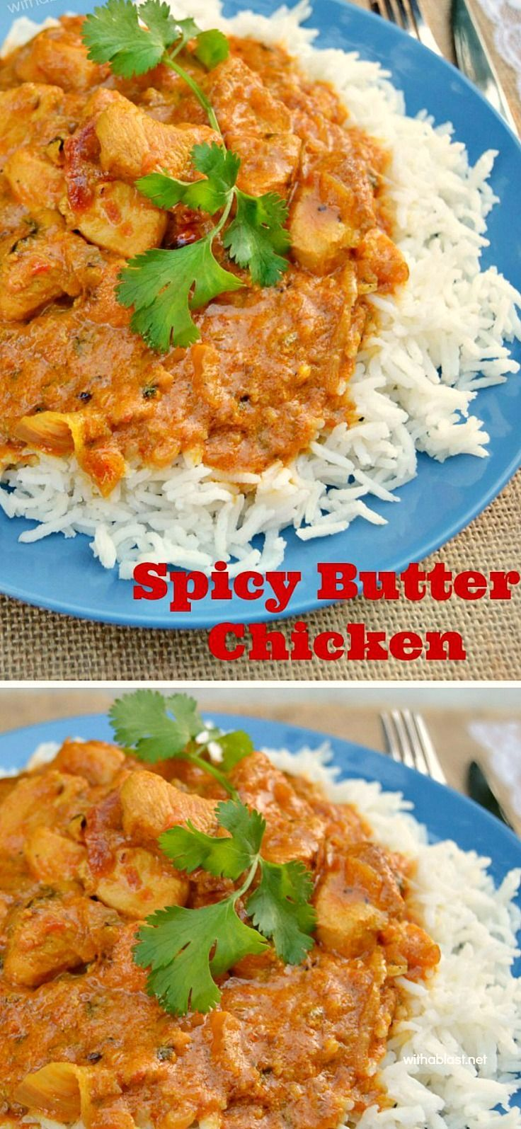 The best spicy butter chicken recipe quick and easy comfort food the best spicy butter chicken recipe quick and easy comfort food butterchicken easychickenrecipes forumfinder Choice Image