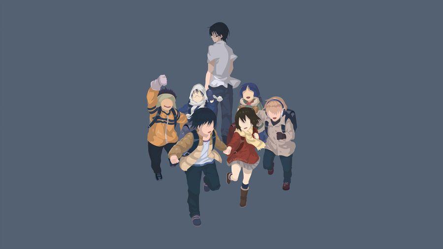 Erased Boku Dake Ga Inai Machi By Hespen Anime Fanart Good Anime Series Anime