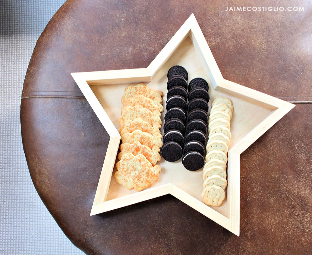 Wood Star Serving Tray or Wall Decor | Ana White #anawhite