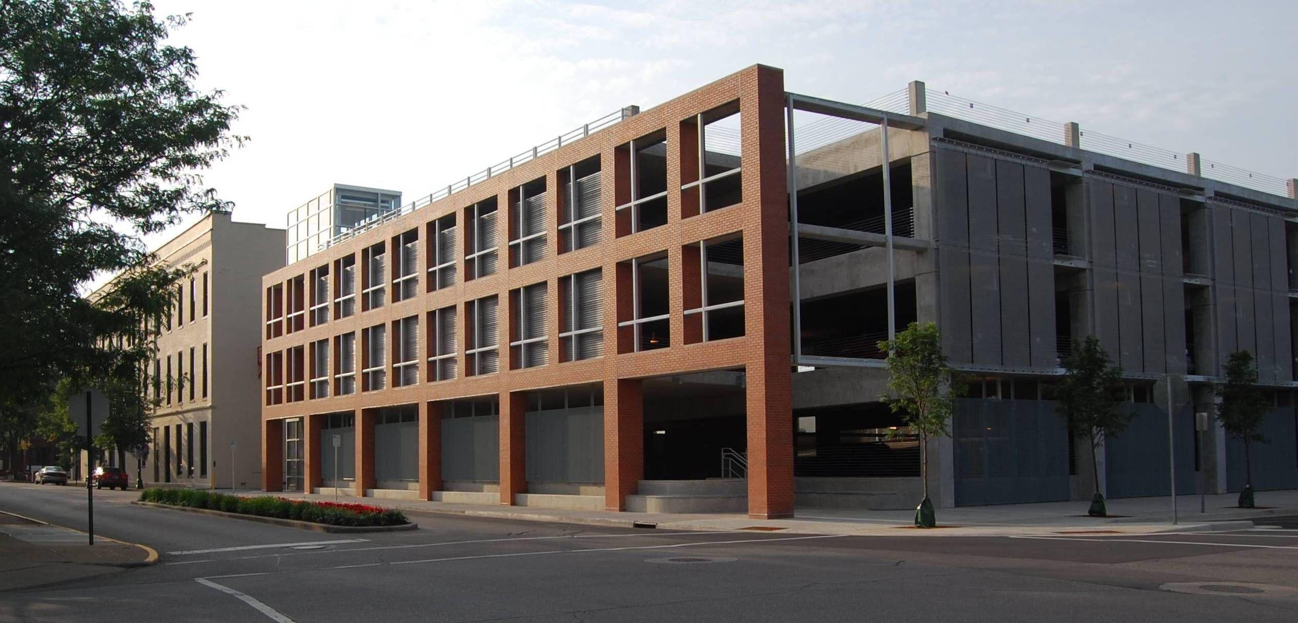 Parking Garage Columbus Indiana Jpg 2 537 1 217 Pixels Columbus Indiana Architecture Interior Design Gallery