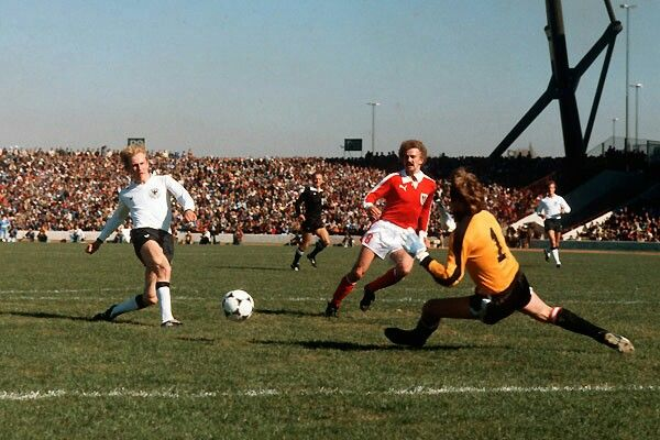 Austria 3 West Germany 2 in 1978 in Cordoba. Karl-Heinz Rummenigge ...