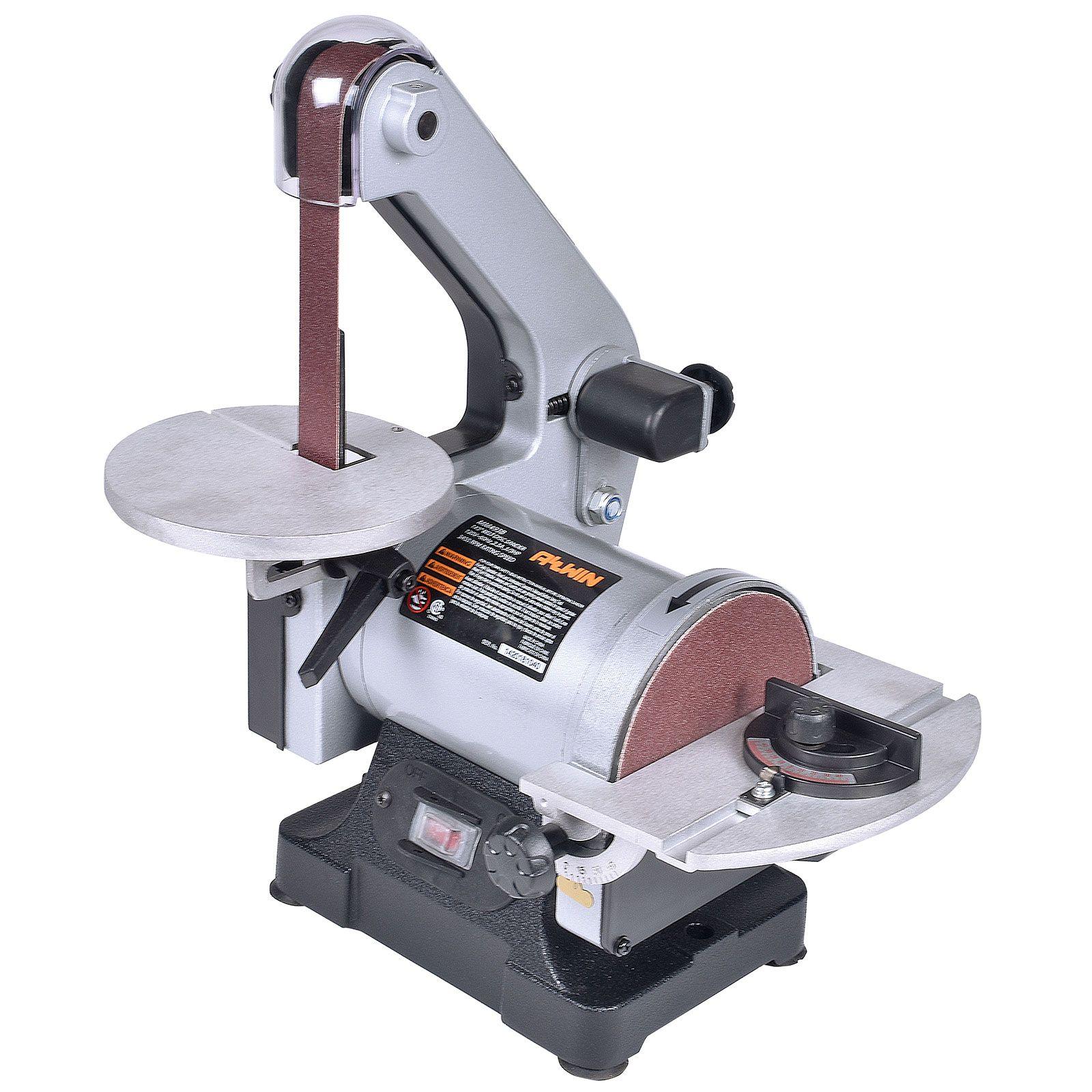 Allwin Benchtop Mini Disk Belt Sander Belt Sander Mini Belt Sander Wood Carving Tools