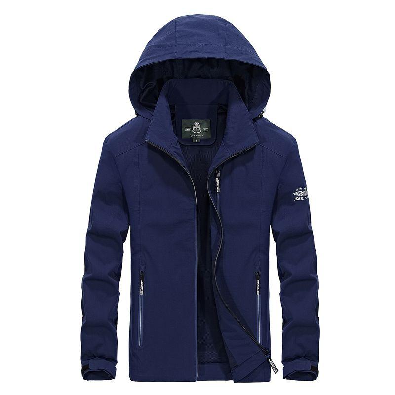 Thin windbreaker jacket men Spring Autumn mens outdoor