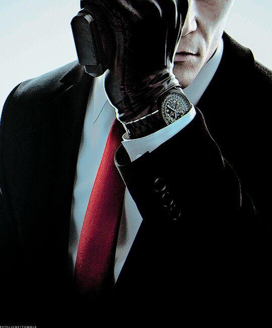 Agent 47 gloves