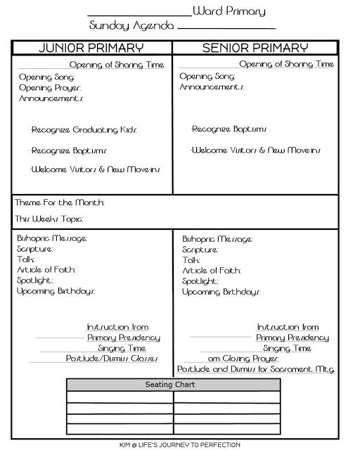 2016 LDS Primary Theme Ideas and Free Printables | Primary ...