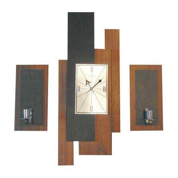 Mid Century Verichron Clock Sconces Set Of 3 225 Liked