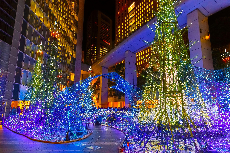 Tokyo Winter Illuminations Tokyo Winter Winter In Japan Tokyo Midtown