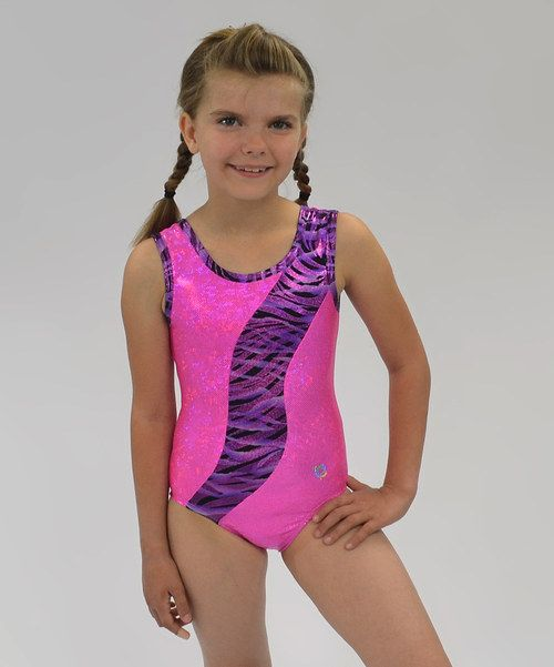 6fbe9a811 I love these neon colors! Gymnastics leotard on zulily