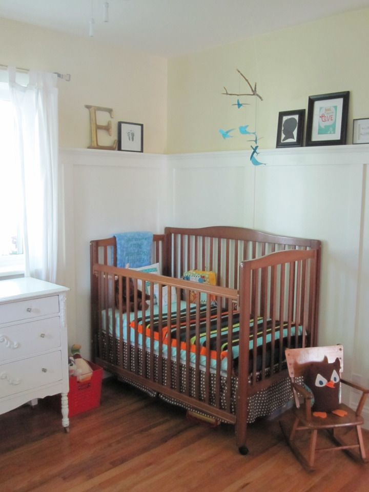 "High ""chair rail""/shelf | Baby girl room | Pinterest ..."