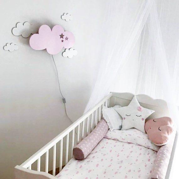 Nursery Wall Light Cloud Kid Room Lights