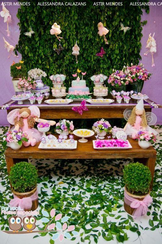 Garden Fairy Party via Karas Party Ideas httppartyideas992