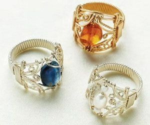 Pin by on Pinterest Wire wrapping Ring and Wraps