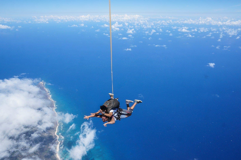 Skydiving Hawaii Oahu travel, North shore oahu, Hawaii
