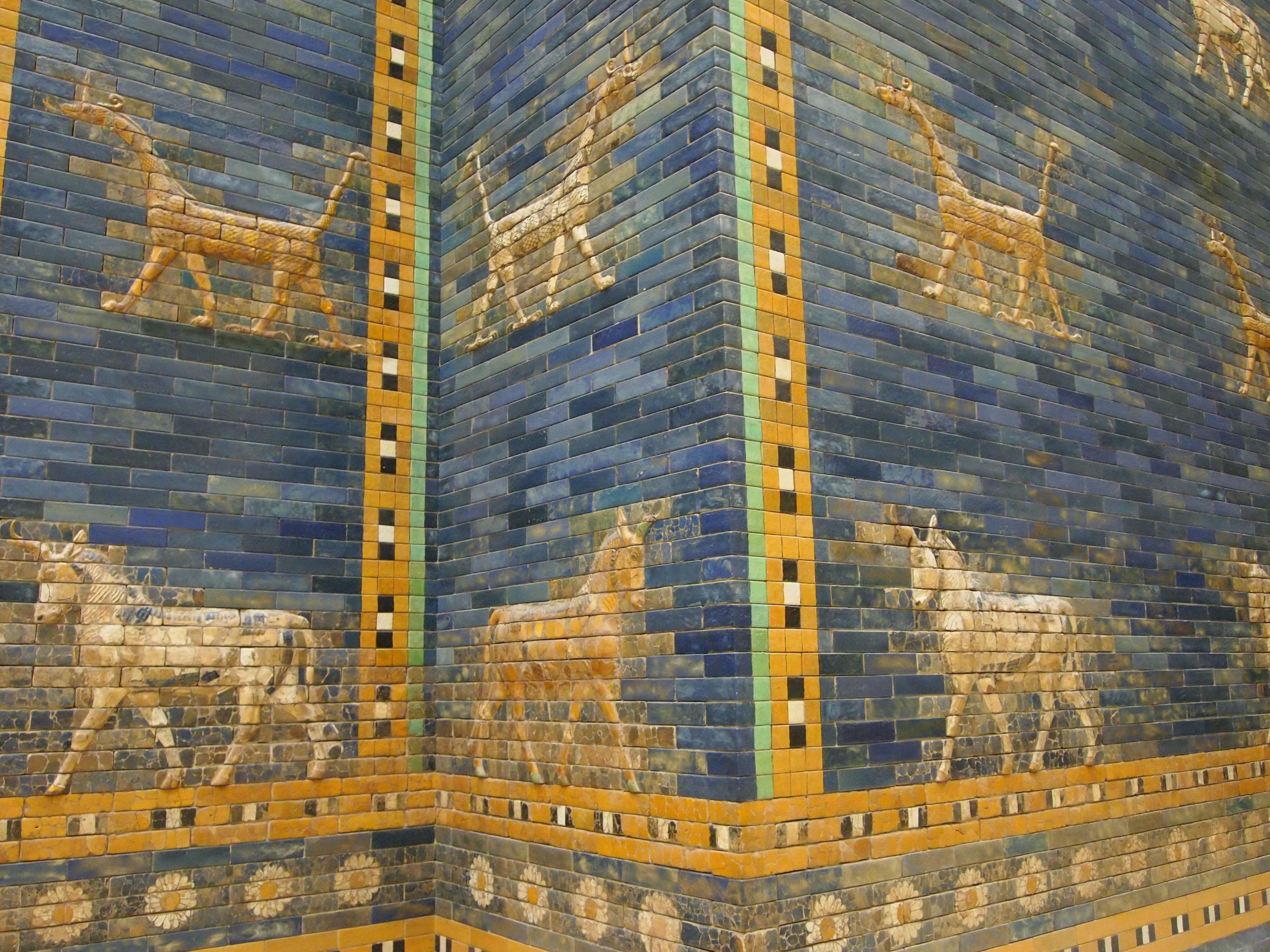 File Ishtar Gate Animals 5336983431 Jpg Pergamon Museum Berlin Pergamon Museum Museum Tours