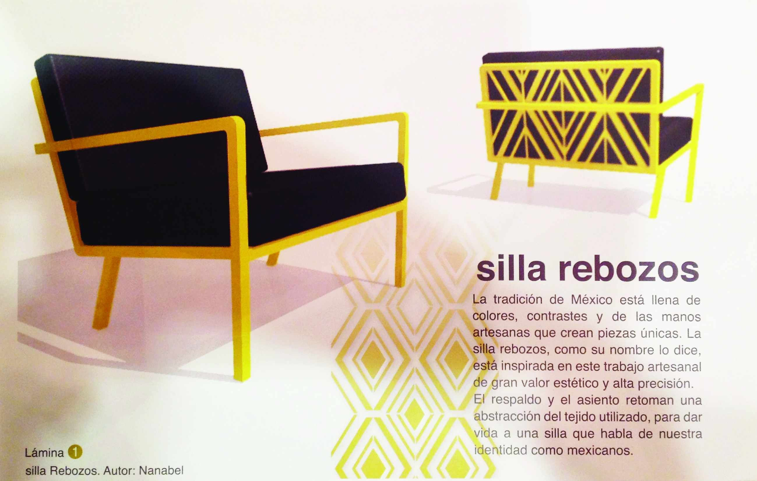 Proyecto Silla Rebozos Finalista Categor 237 A Profesional