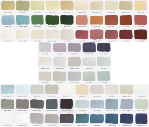 Pretty Paints But Only Available At Lowes In Canada Come On Bring Them To The States Please