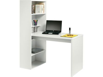 Bureau étagère WILLOW Meuble Informatique Bureau - Conforama meuble bureau informatique pour idees de deco de cuisine