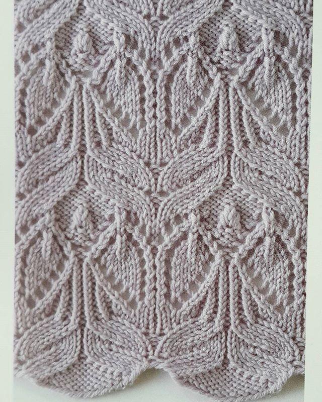 Japanese Lace Knitting Stitch - Knitting Kingdom | Lace knitting ...