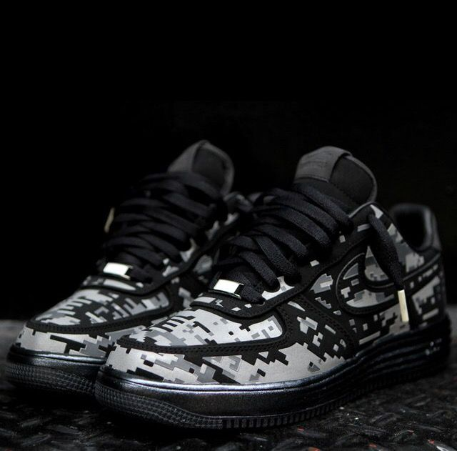 28b669fa6d871 Nike Lunar Force 1 Digital Camo | Kicks | Nike lunar, Sneakers nike ...