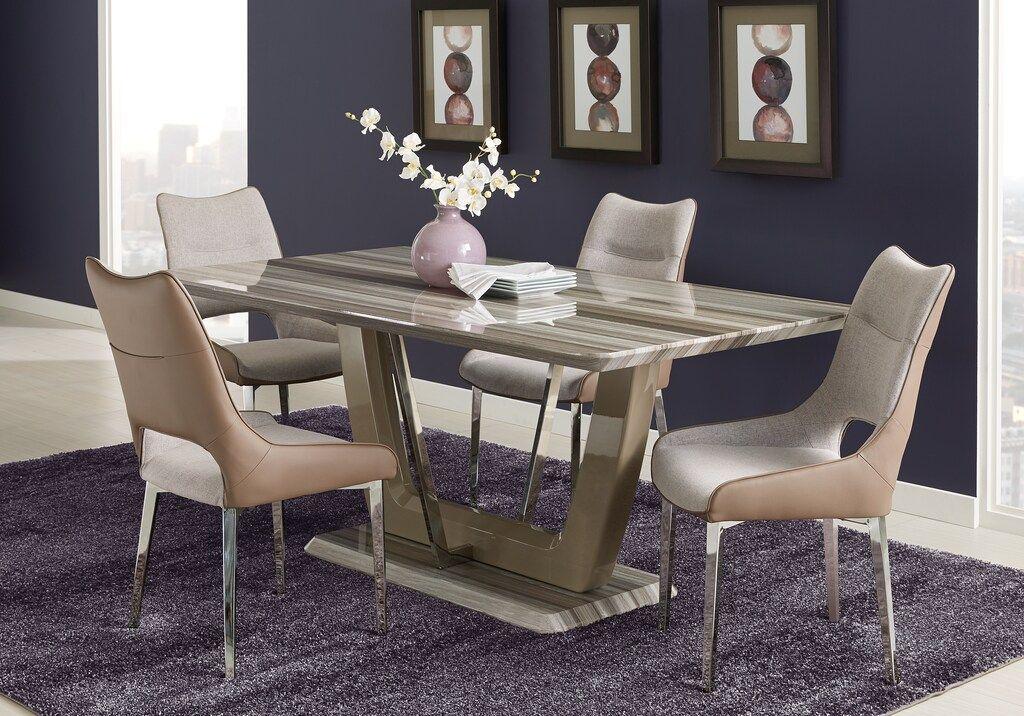 duvall tan 5 pc dining room  dining room sets light wood