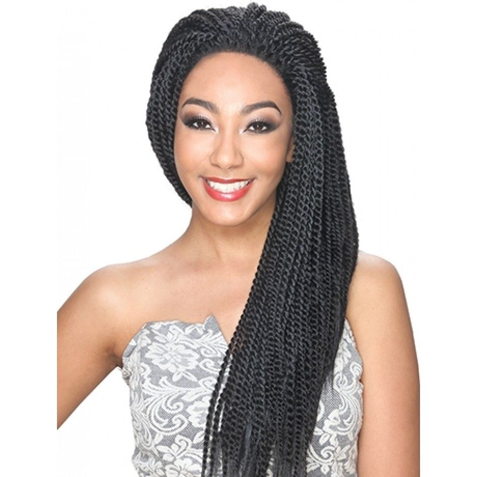 Zury Sis Synthetic Afro Lace Braid Bob Pixie | Afro braids