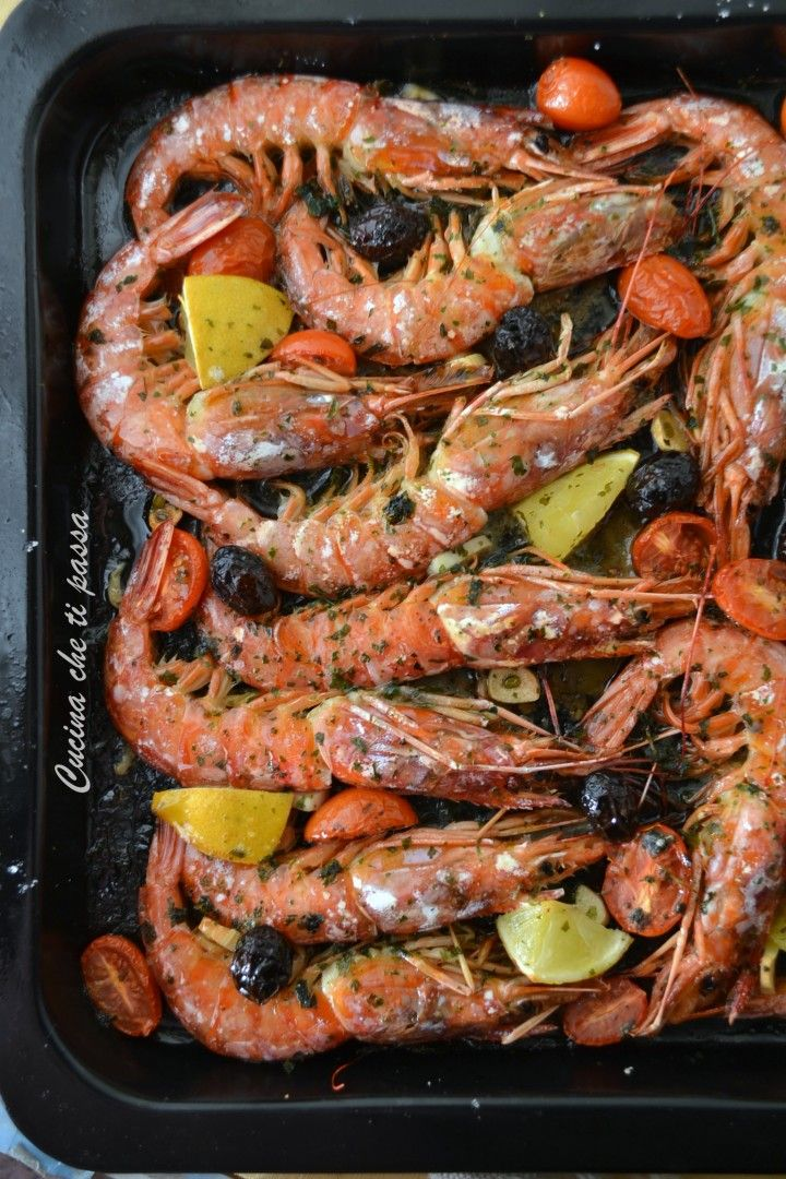 Photo of Quick and easy baked prawns