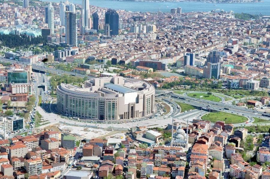 Çağlayan courthouse / İSTANBUL