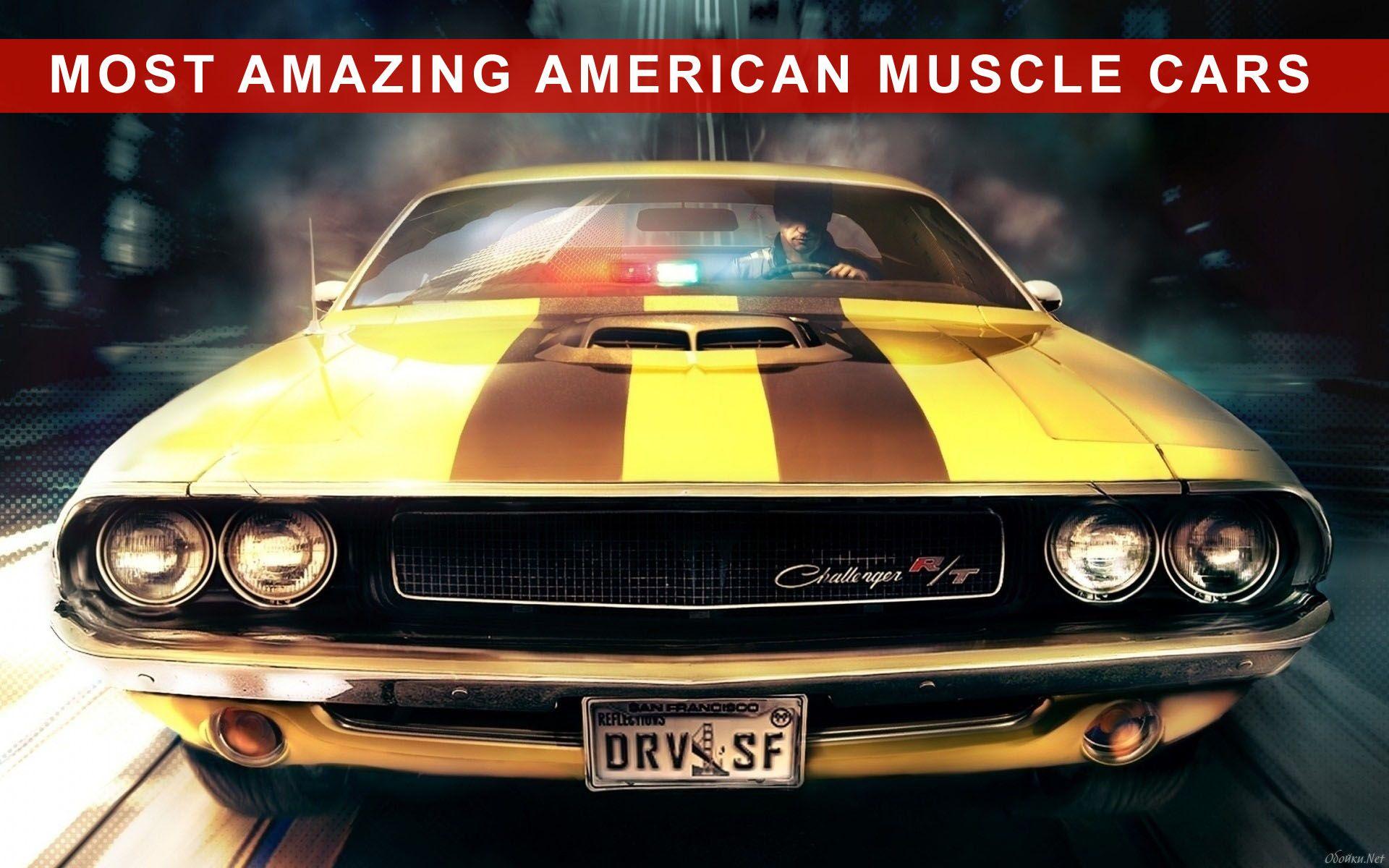 Amazing #American #Muscle #Cars - http://www.allcarsbrands.net ...