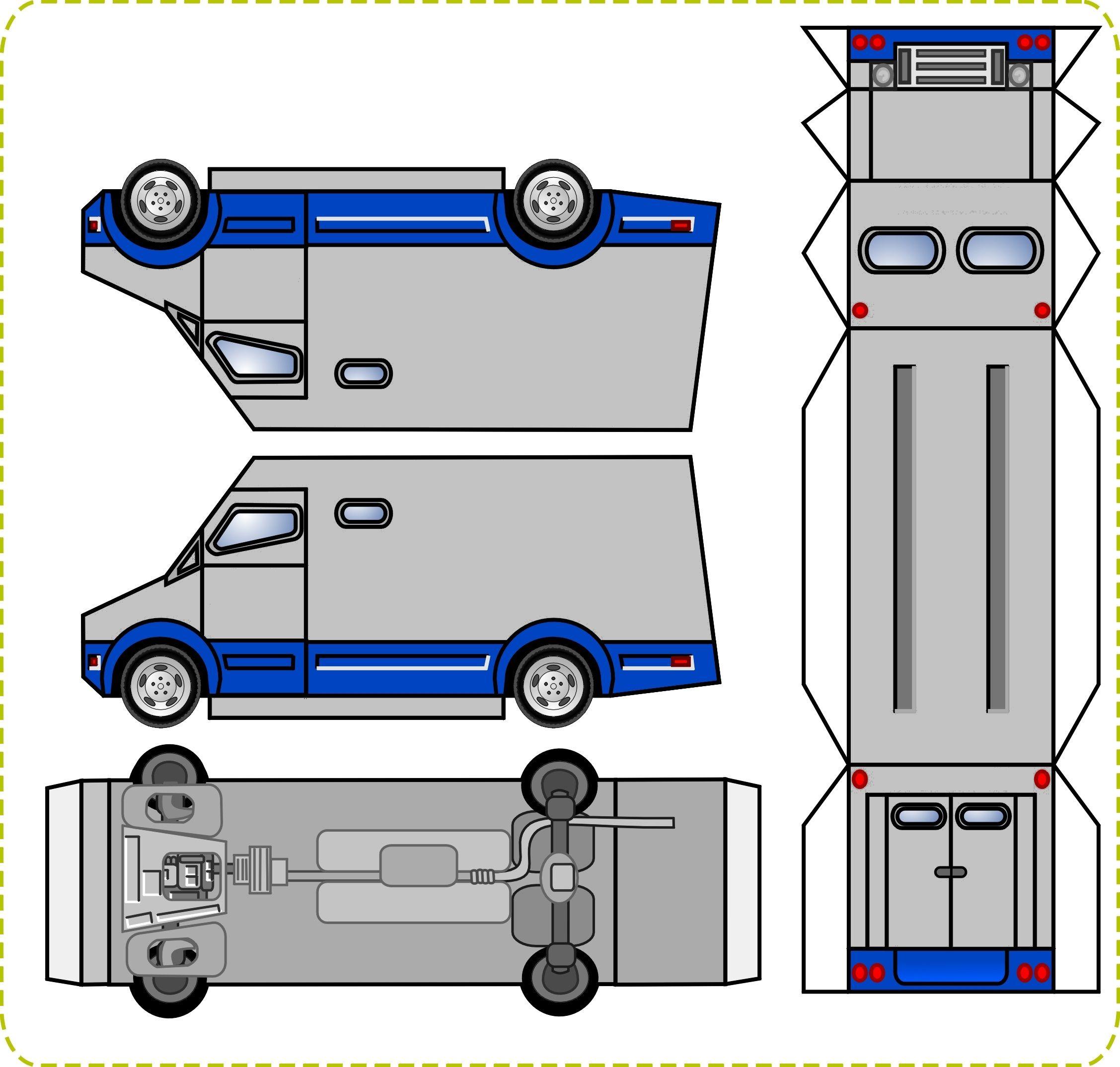 SP Papel Modelismo PaperCraft Fusca Carf