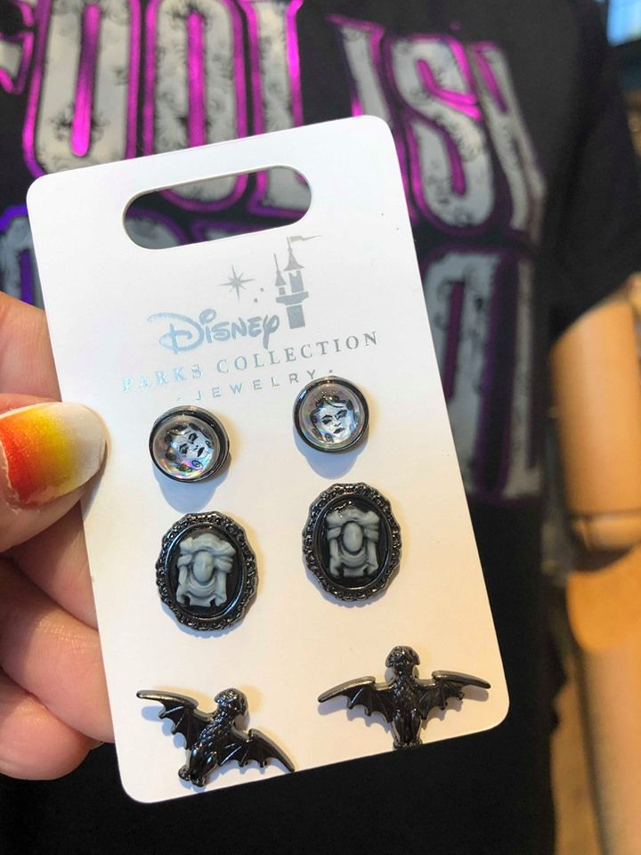 Ghouslish New Haunted Mansion Jewelry Has Materialized Disney
