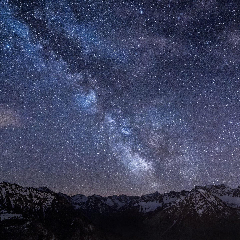 Wallpaper Pemandangan Langit Malam Pemandanganoce Arts Di 2019