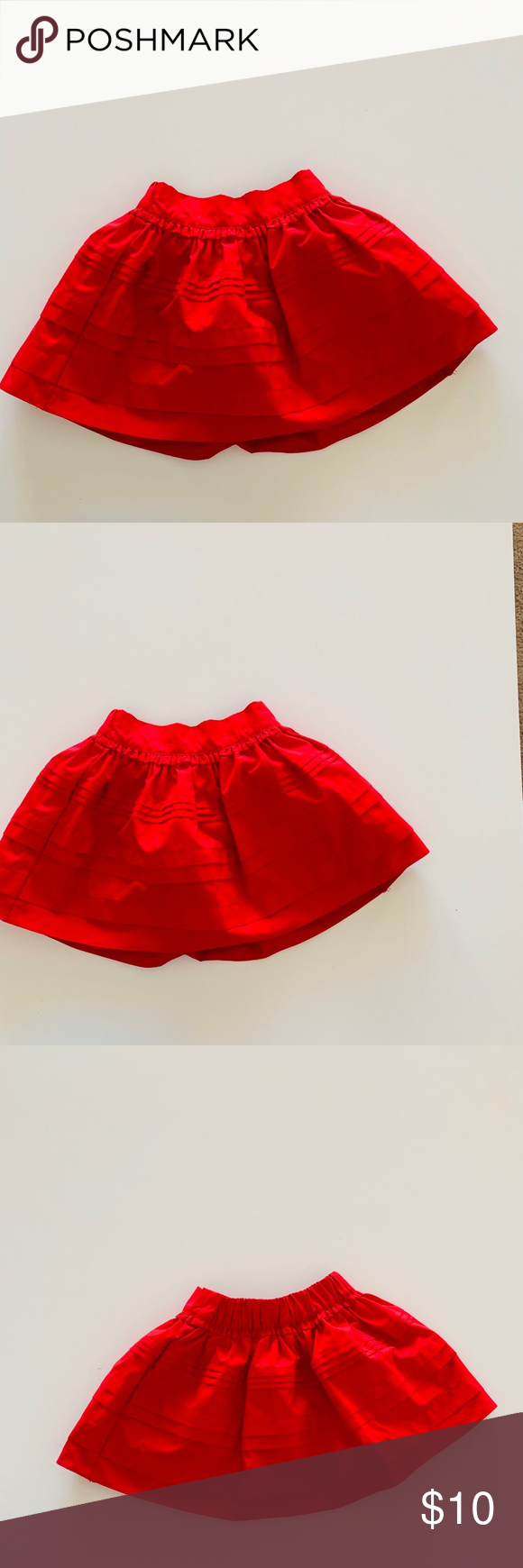 Sz Photo Oshkosh B Gosh Girls Red Skirt Sz 4t Oshkosh B Gosh Size 4t
