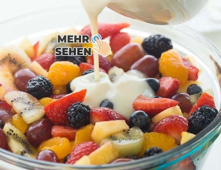 Fruit salad and vanilla vinaigrette ... Easy, healthy and refreshing! -    - Obst -