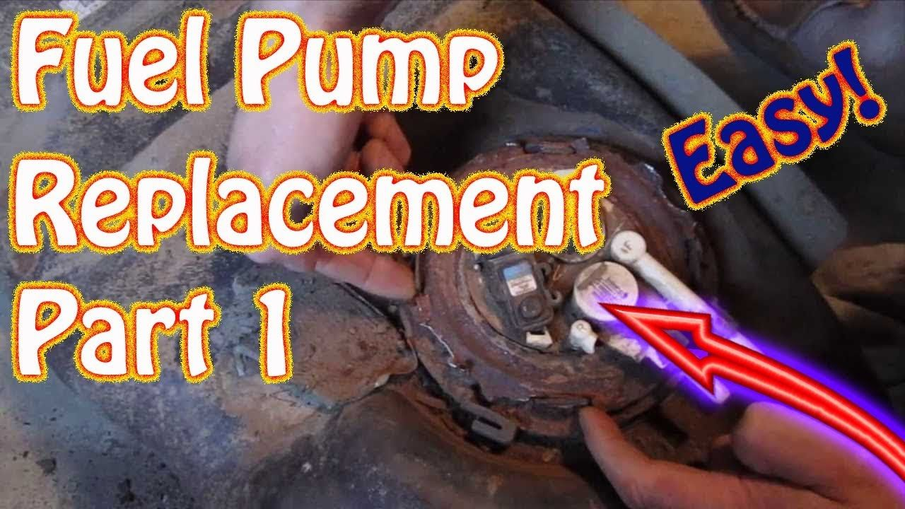 1999 Gmc Jimmy Chevy Blazer Fuel Tank Removal Fuel Pump
