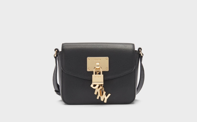5104fc47a Elissa Pebbled Leather Small Crossbody - Crossbody Bags - Bags - DKNY - Donna  Karan