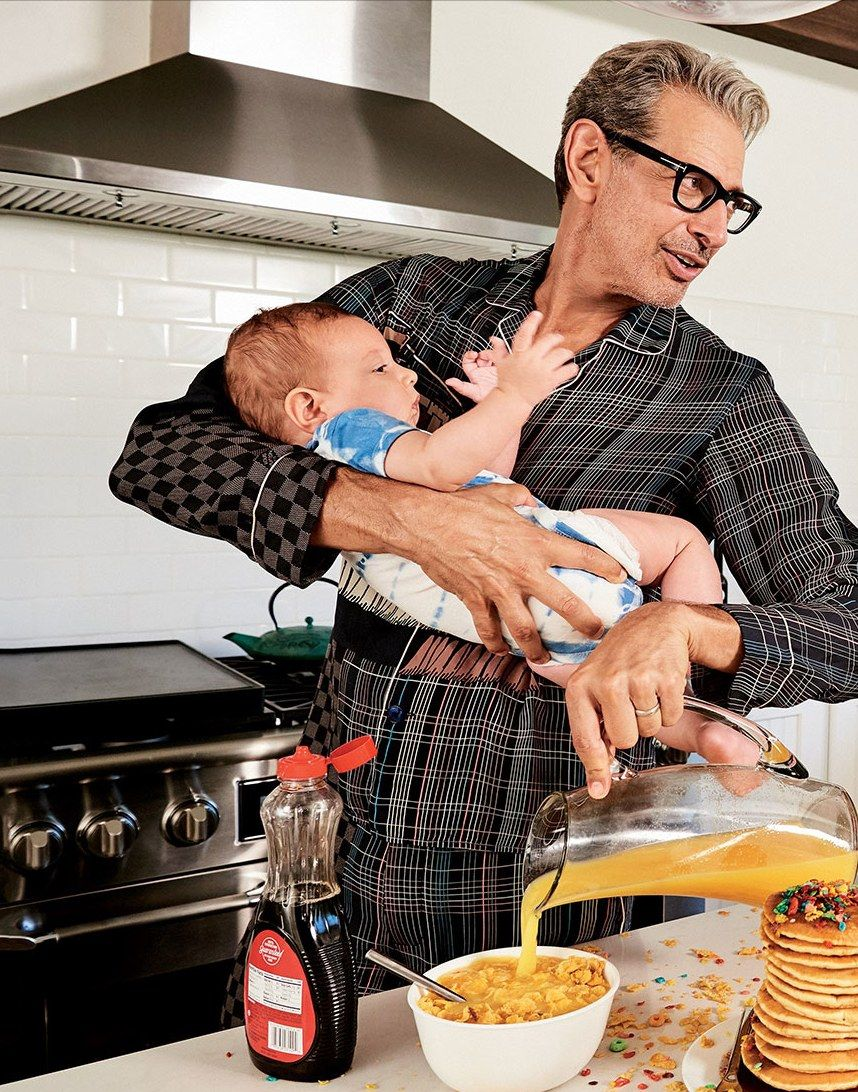 Jeff Goldblum And Son Charlie Ocean Dad Fashion Celebrities Male Gq